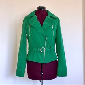 Express Green Jacket